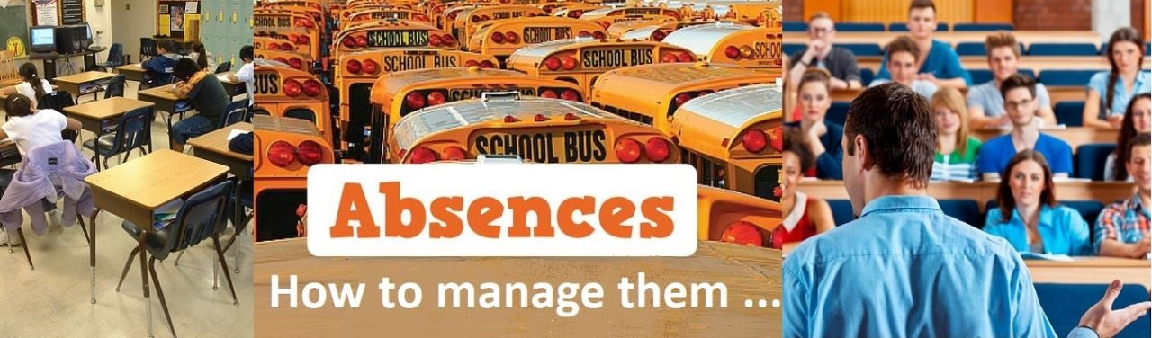 How to manage absences
