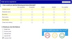 Rate hotel Services