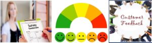 monitor the level of satisfaction of your Customers