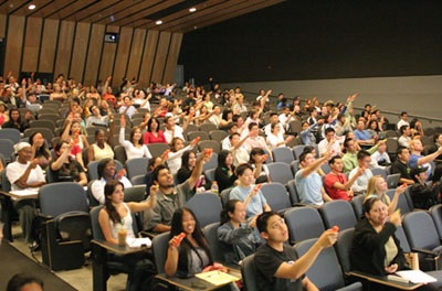 Auditorium Student Response System